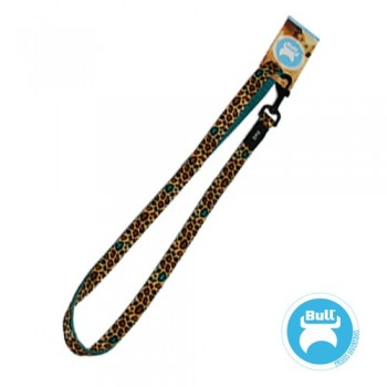 correa animal print (leopardo)